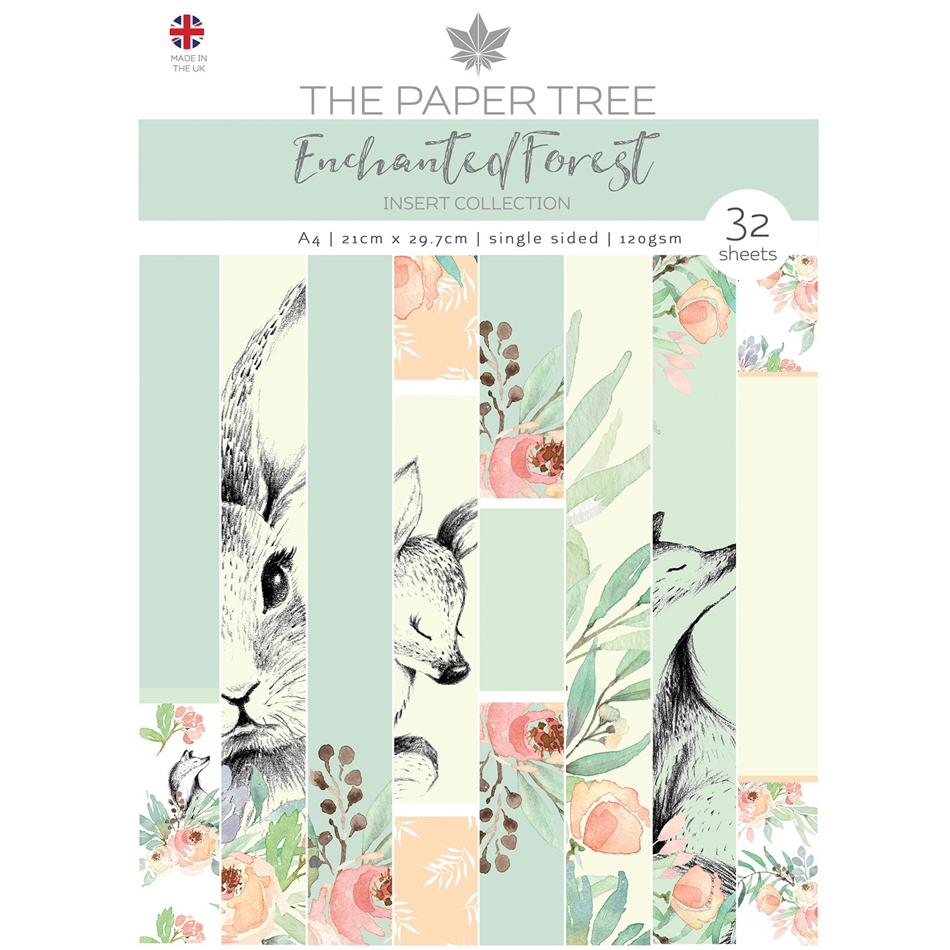 The Paper Tree Enchanted Forest A4 Insert Collection