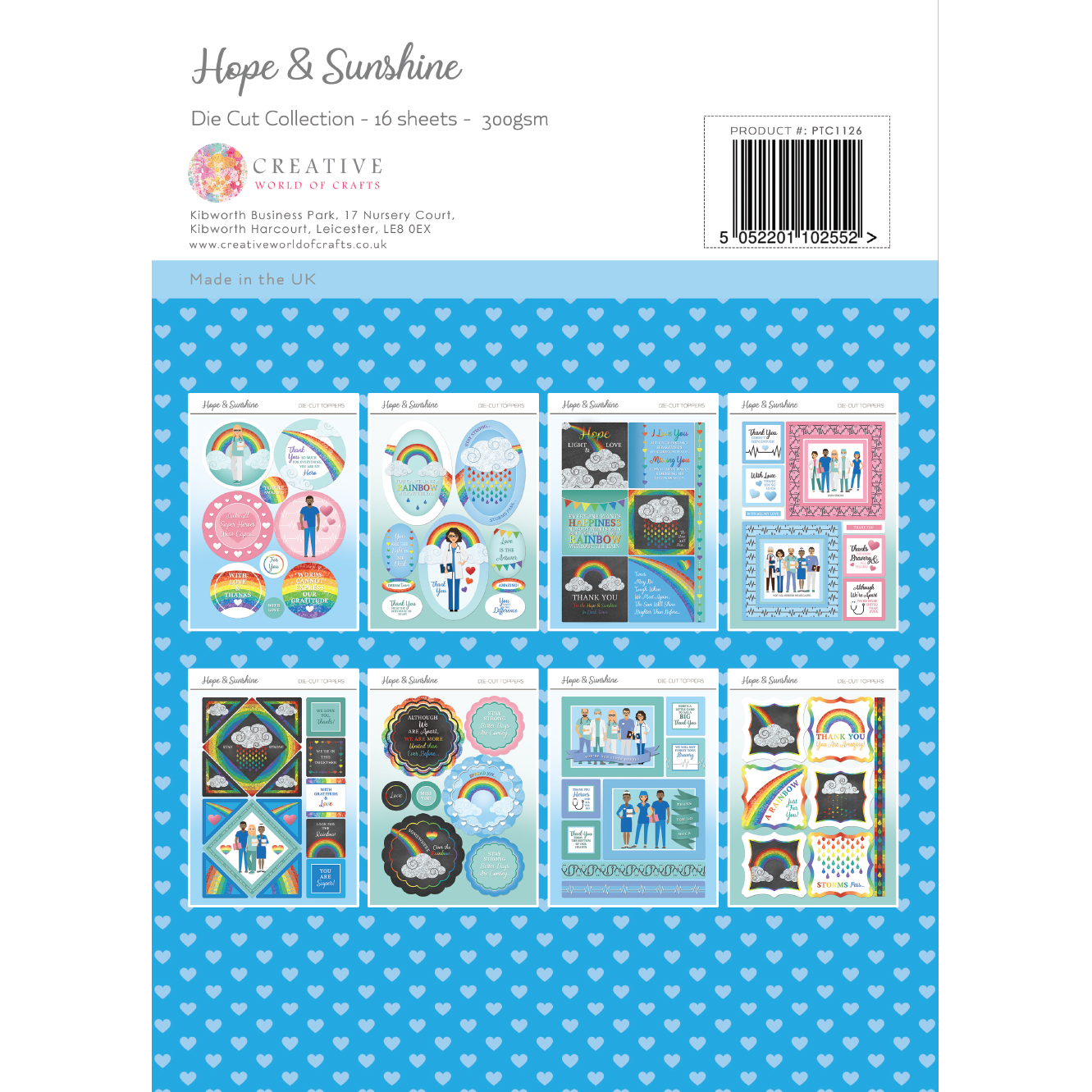 The Paper Tree Hope & Sunshine A4 Die Cut Collection
