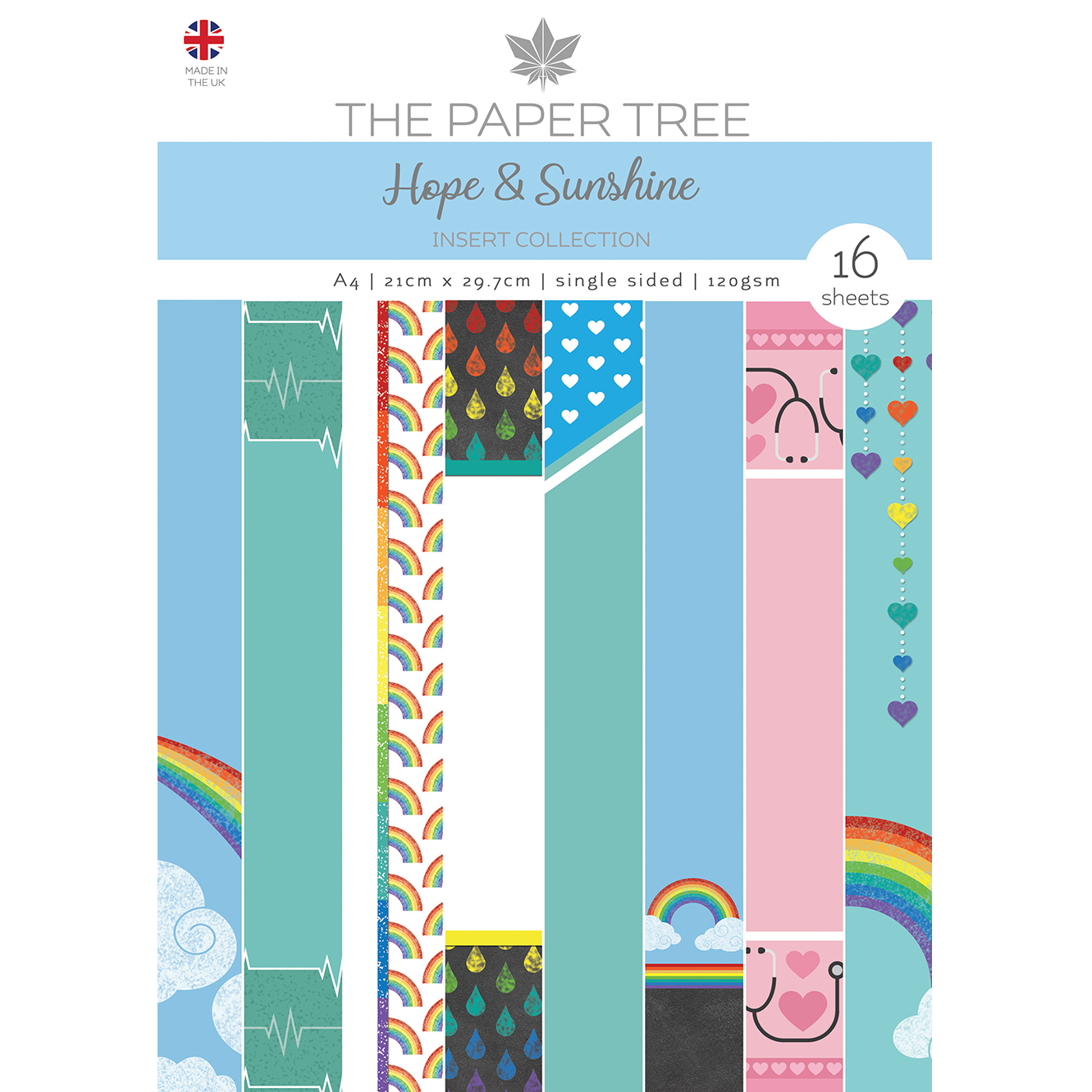 The Paper Tree Hope & Sunshine A4 Insert Collection