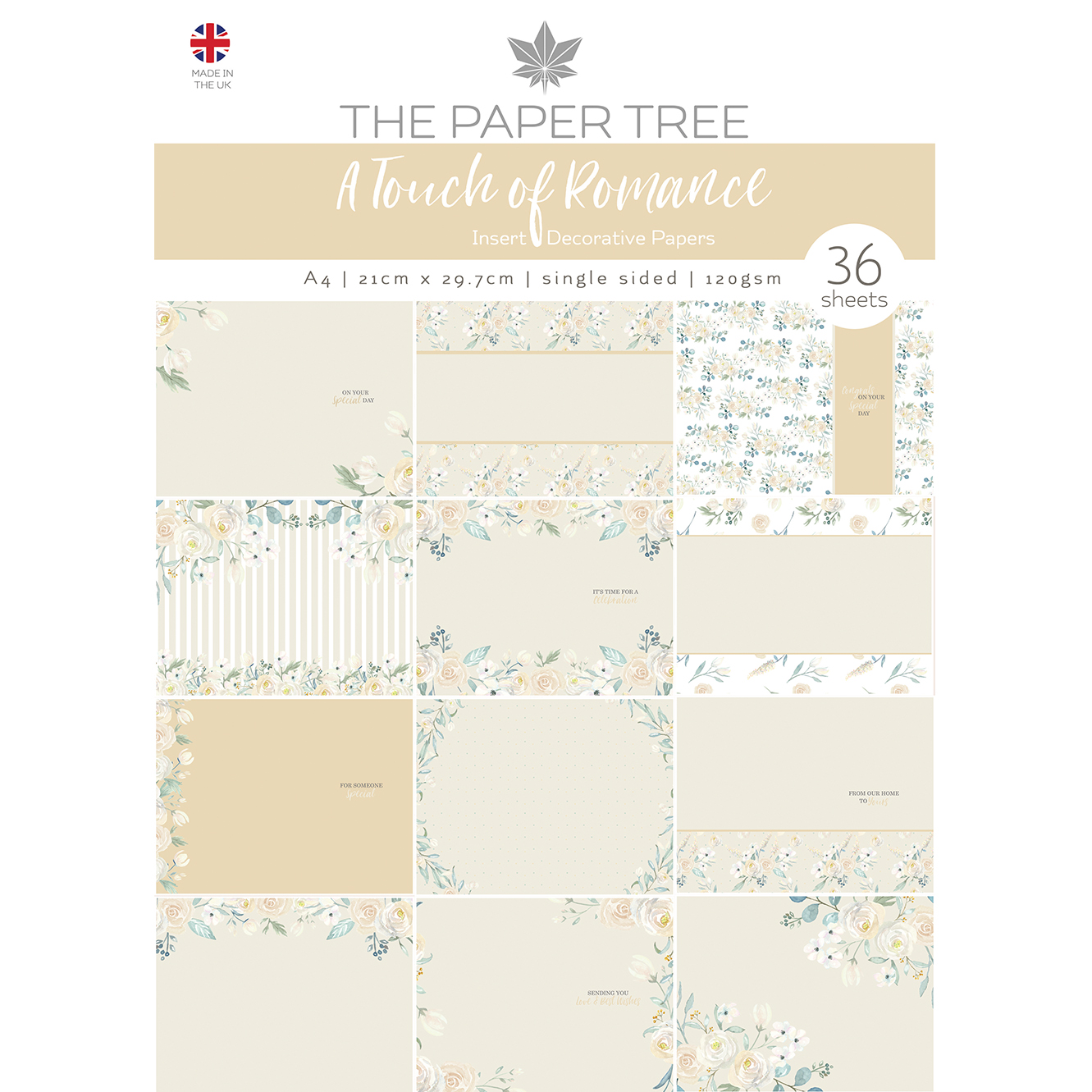 The Paper Tree A Touch of Romance Insert Collection