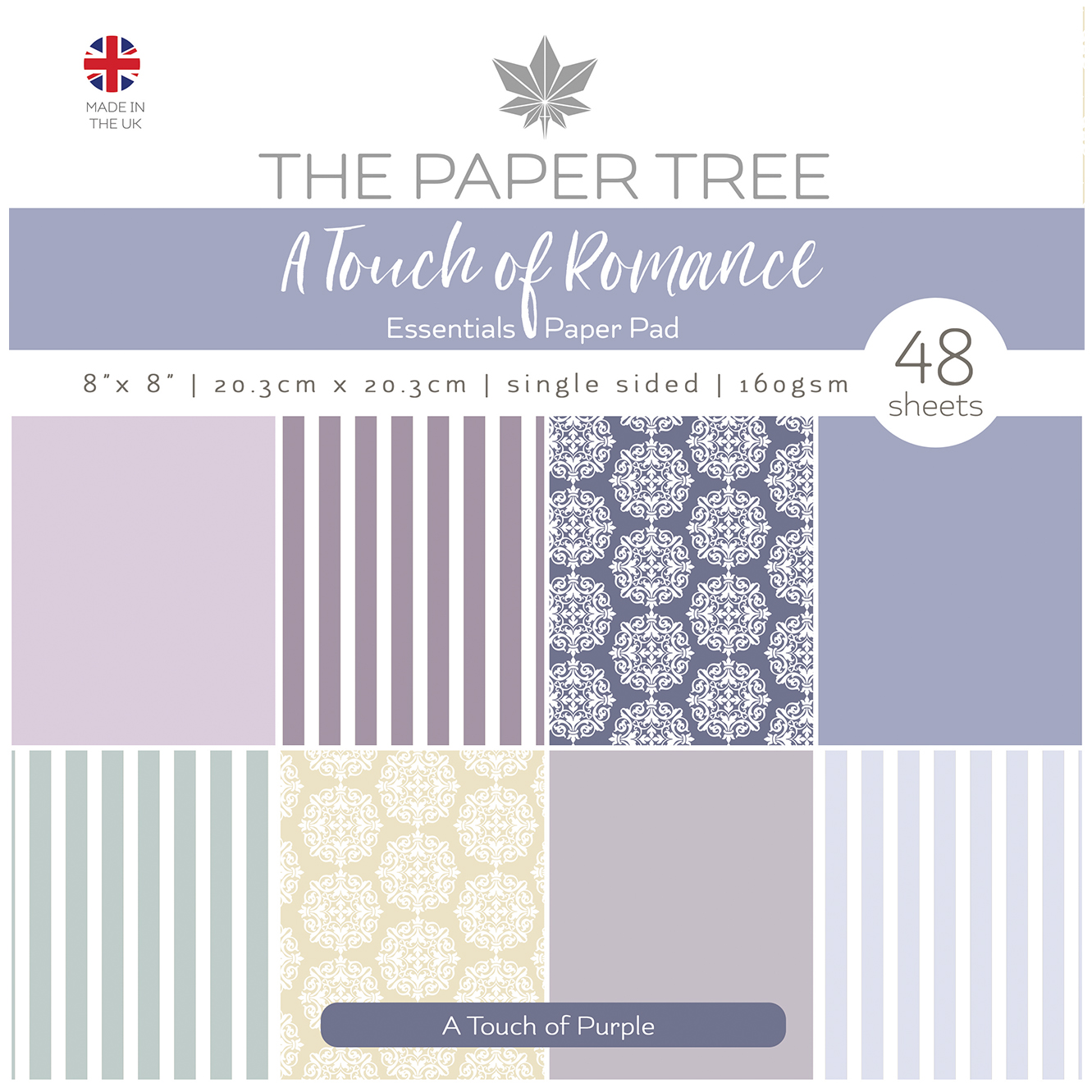 The Paper Tree A Touch of Romance Essential Paper Pad – A Touch of Purple