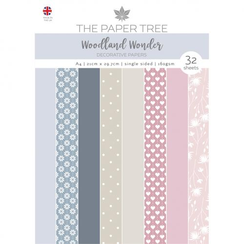 The Paper Tree Woodland Wonder A4 Essential Coloured Card