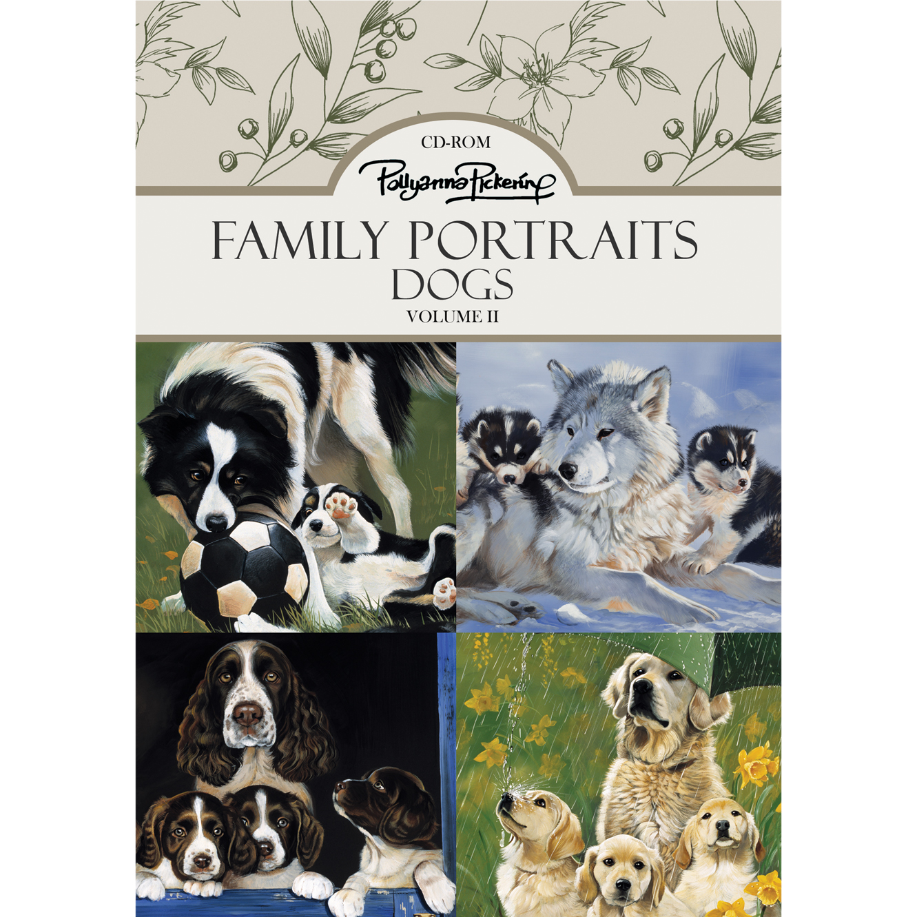 Pollyanna Pickering Family Portraits – Dogs Vol. II CD ROM