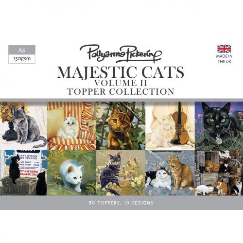 Pollyanna Pickering's Majestic Cats Vol.II Complete Papercraft Collection