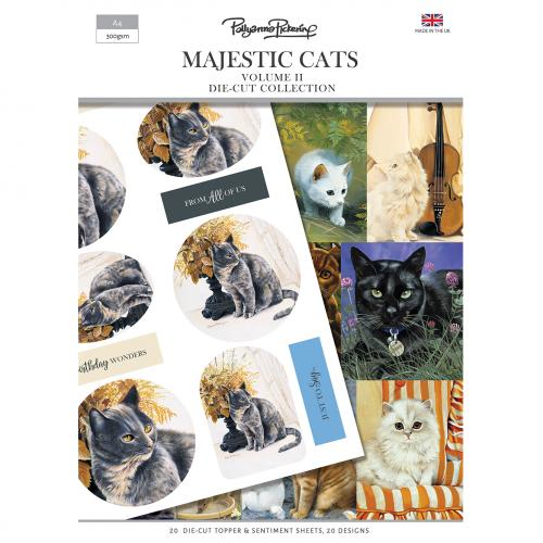 Pollyanna Pickering's Majestic Cats Vol.II Die-Cut Collection