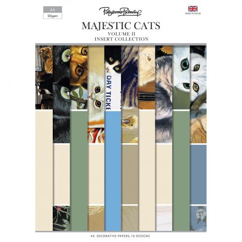 Pollyanna Pickering's Majestic Cats Vol.II Insert Collection