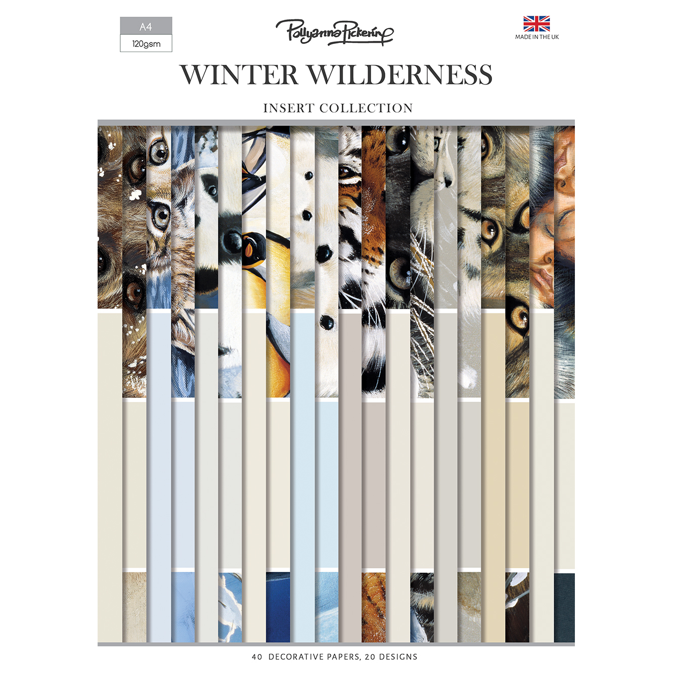 Pollyanna Pickering Winter Wilderness Inserts Collection
