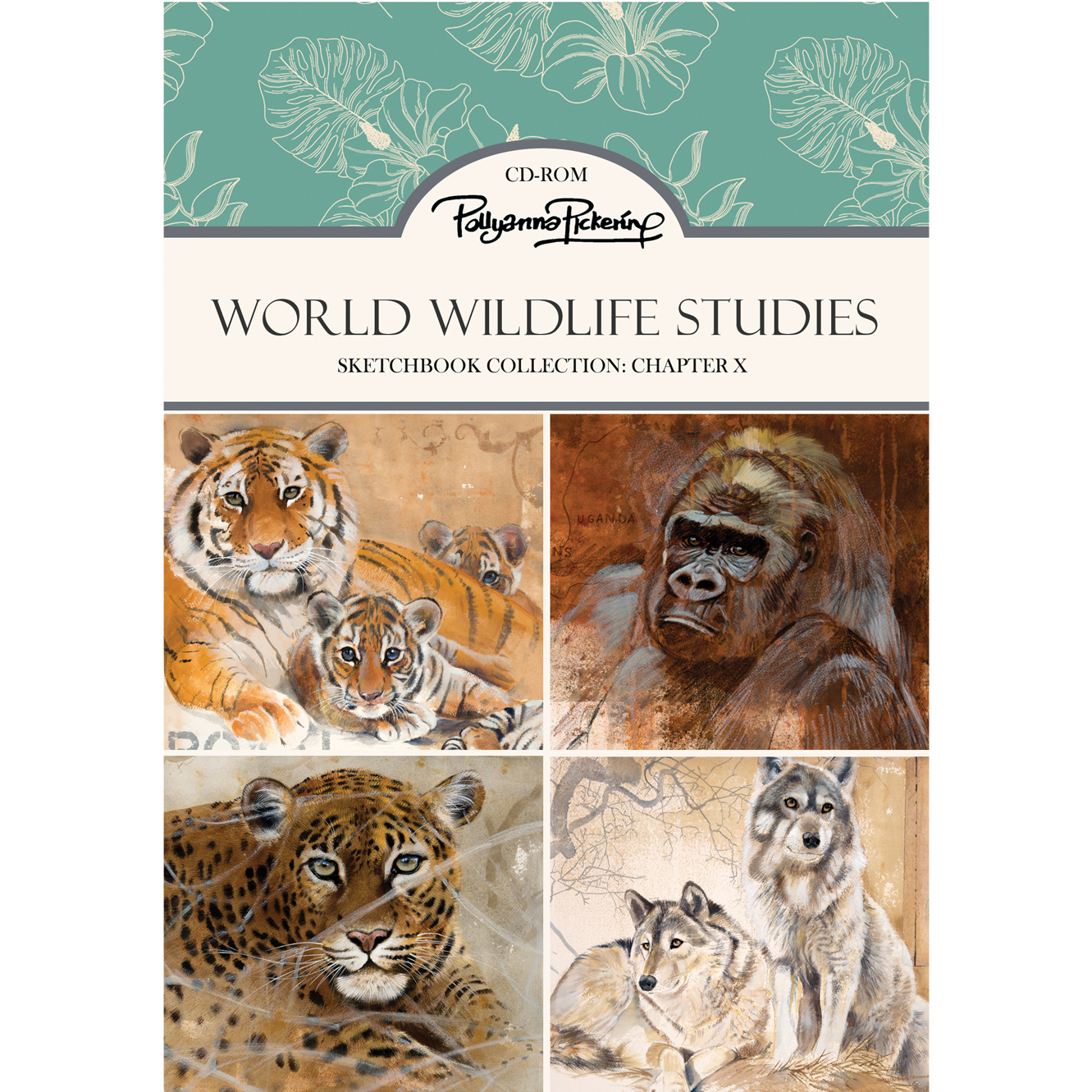 Pollyanna Pickering's Sketchbook Collection Chapter X World Wildlife Studies – CD-Rom