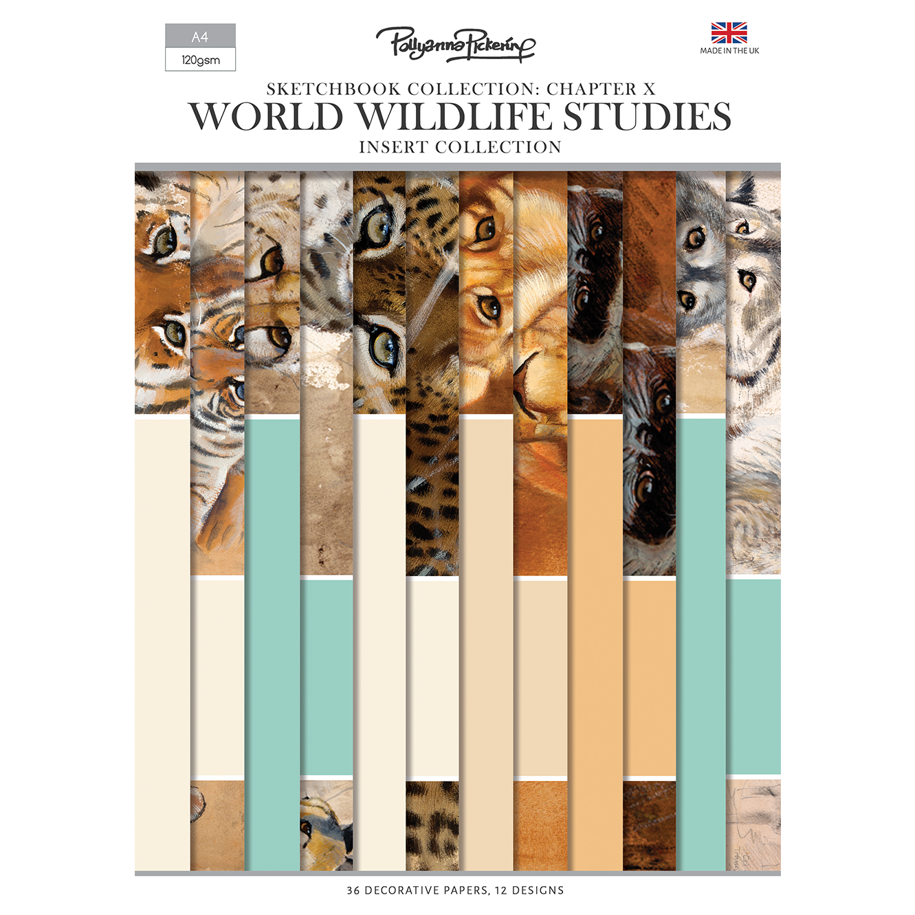 Pollyanna Pickering's Sketchbook Collection Chapter X World Wildlife Studies – Insert Collection
