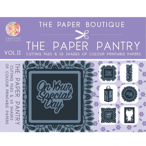 The Paper Pantry Cutting Files Vol. II USB