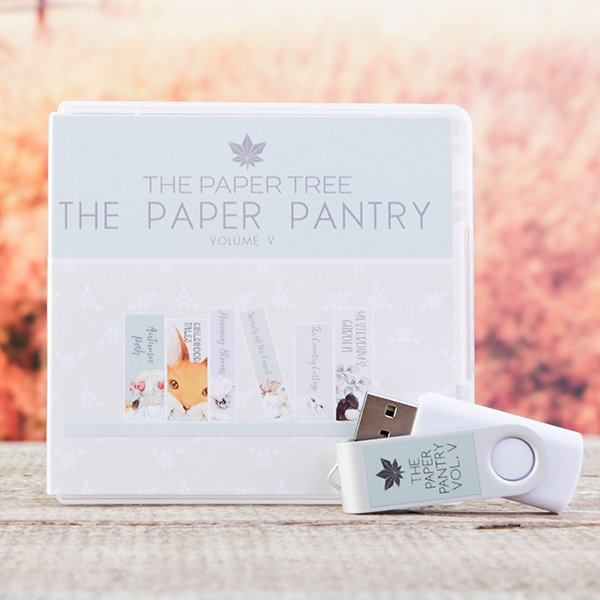 The Paper Pantry Vol V USB – Paper Tree Collections