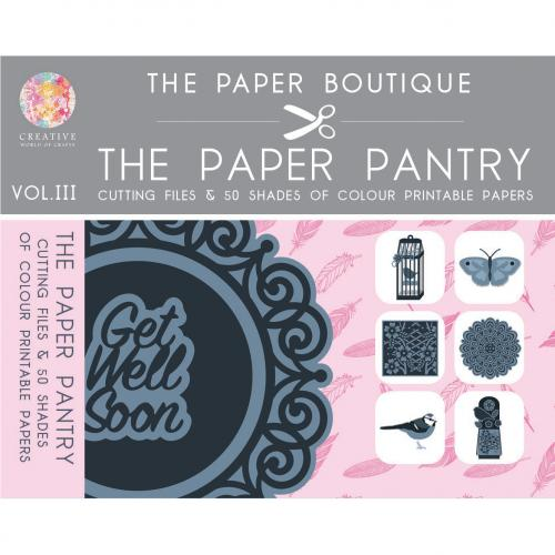 The Paper Pantry Cutting Files & 50 Shades of Colour Paper Collection Vol III USB