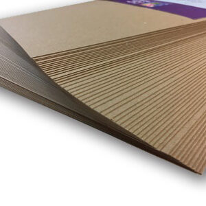 Lynda Chapman's World of Paper Box of 250 A4 Sheets of 280gsm Kraft Brown Card