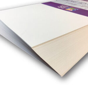Lynda Chapman's World of Paper Box of 150 A4 Sheets of White Card 250gsm